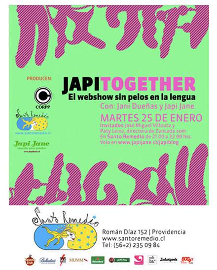 Nuevo Japi Together, con Paty Leiva y Villouta 1