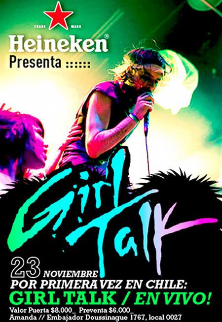 Girl Talk viene a Chile 3