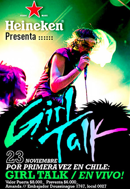 Girl Talk en Chile: concurso 1
