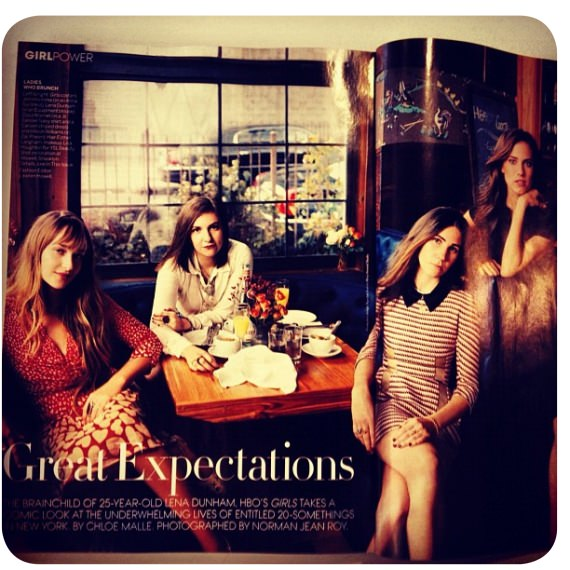 Girls en la revista Vogue 3