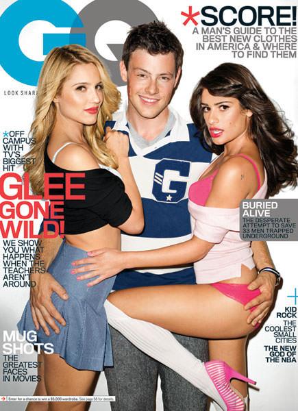 Glee en portada de revista GQ 1