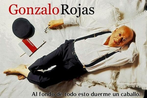 """""""Al fondo de todo esto duerme un caballo"""", el documental de Gonzalo Rojas online 1"""