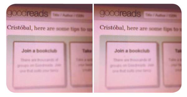 La obsesión Goodreads 1