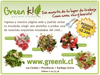 Almuerzos Greenk 3