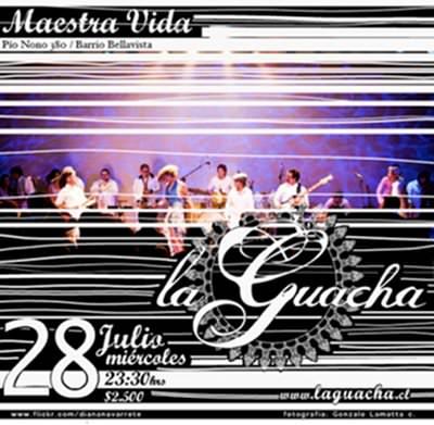 MIE/28/07 Banda La Guacha, en vivo 1