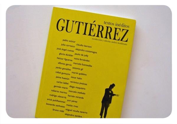 Gutiérrez: 32 escritores nacionales en un solo libro 1