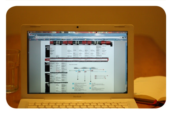 IN-EDIT 2011: programación por día, hora y salas 1