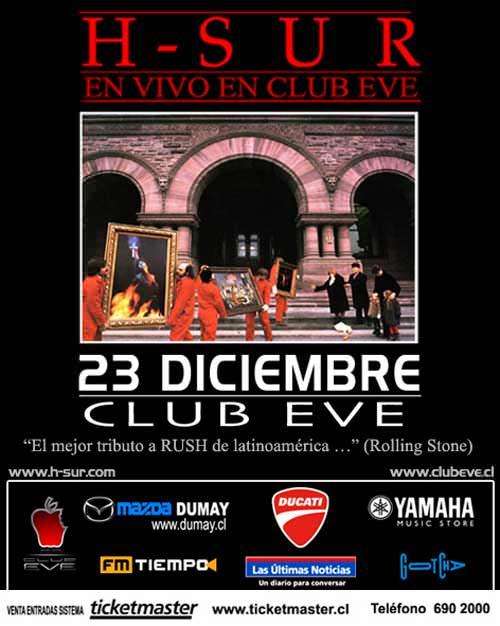 Jue/23/12 H-Sur en Club Eve 1
