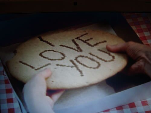 i love you cookie