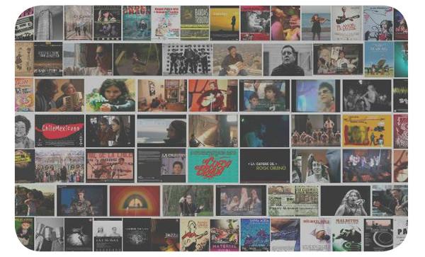 Catálogo de cine y documentales musicales chilenos 1