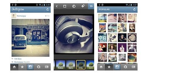 Instagram, ahora en Android 6