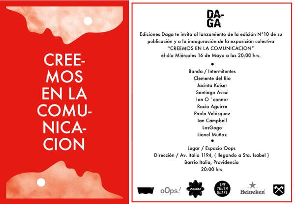 Exposición Colectiva 'Creemos en Comunicación', Ediciones Daga 3