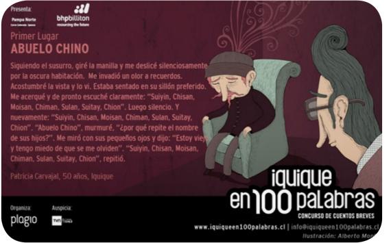 Los cuentos de Iquique y Antofagasta en 100 Palabras 5