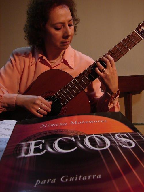 MIE/11/08 Guitarrista Ximena Matamoros en vivo  1