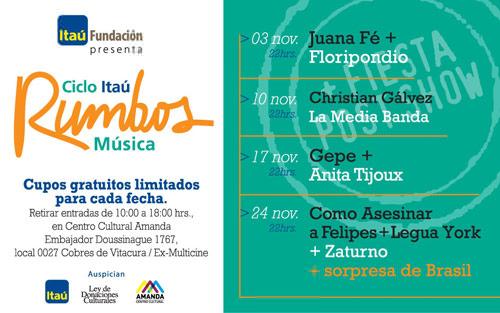 Ciclo Itaú Rumbos Música 3