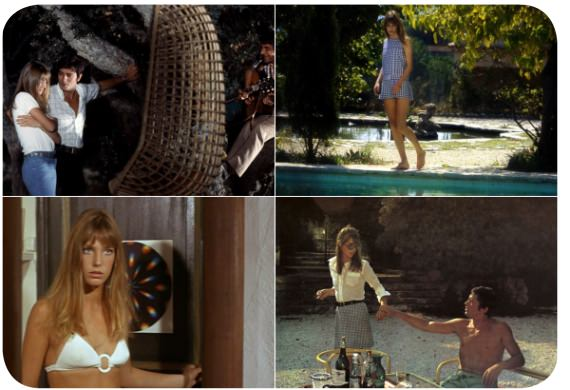 "El look: Jane Birkin en ""La Piscina"" 1"