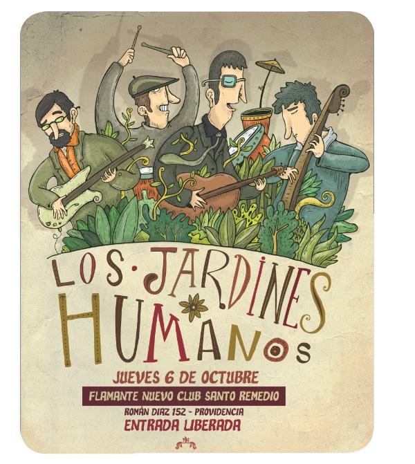 Los Jardines Humanos en vivo y gratis en Santo Remedio 1