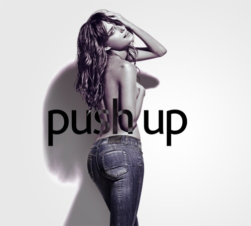 Push up: jeans que levantan el poto 1