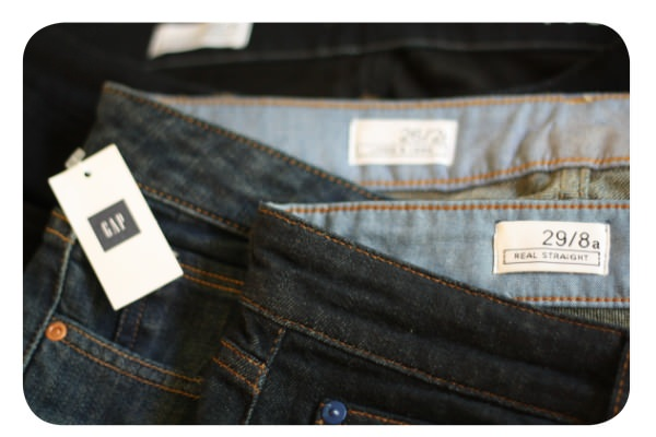 Los jeans Gap y sus calces 1