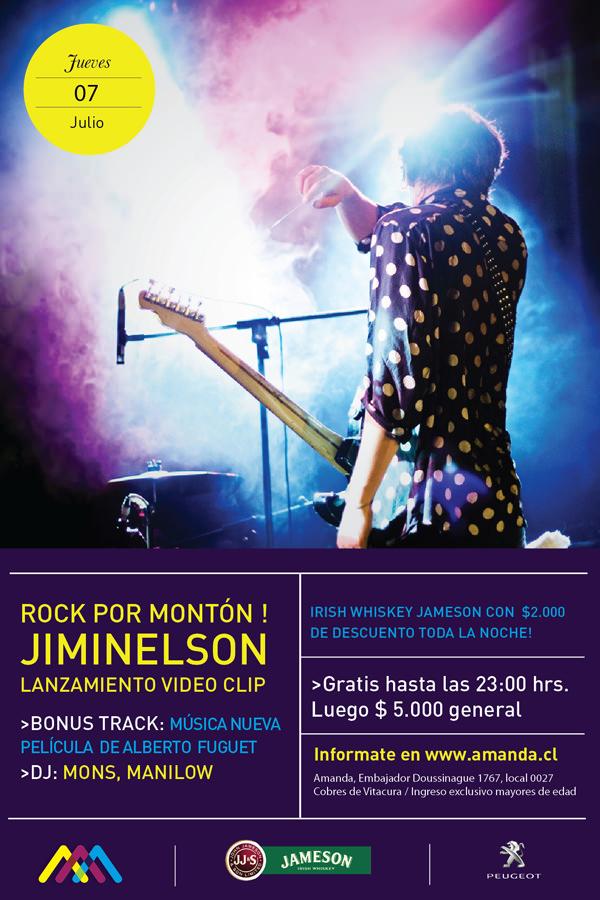 Jiminelson en vivo 3