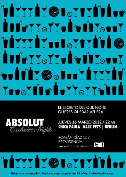 Santo Remedio: Absolut Exclusive Night 1