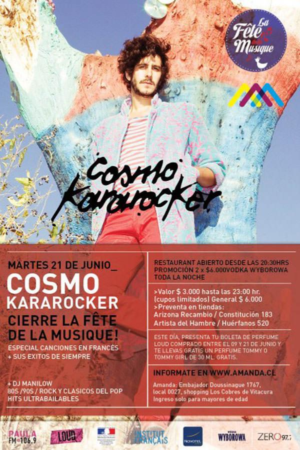 Concurso Kararocker Clausura La Fête De La Musique en Amanda 1