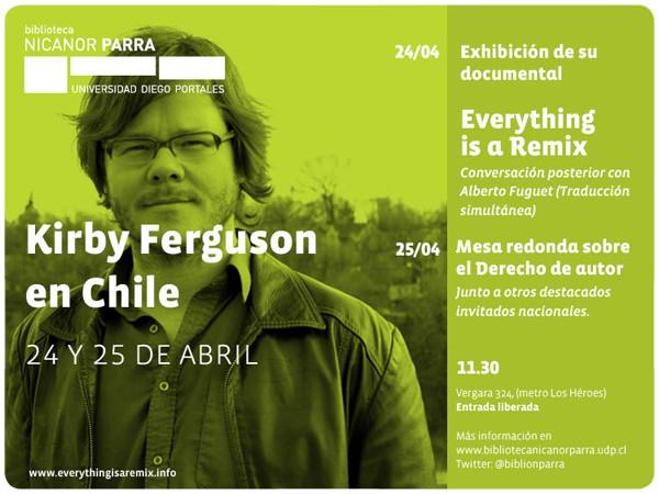 Kirby Ferguson en Chile 1