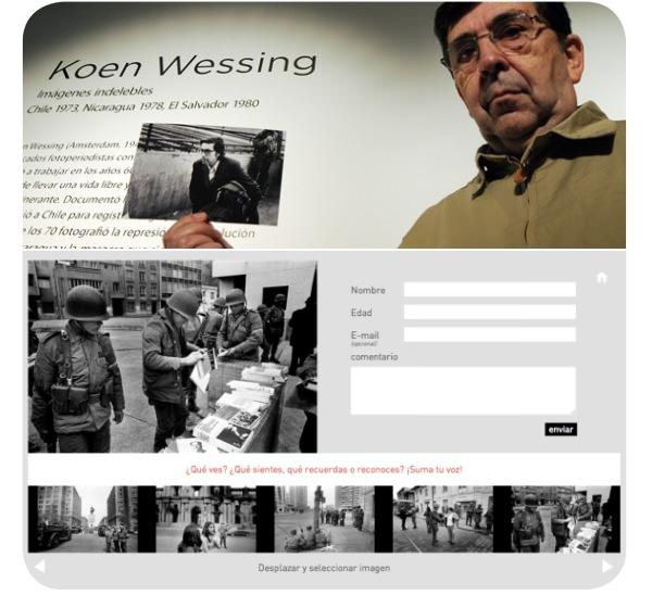 Imágenes Indelebles de Koen Wessing, de nuevo en el GAM 1