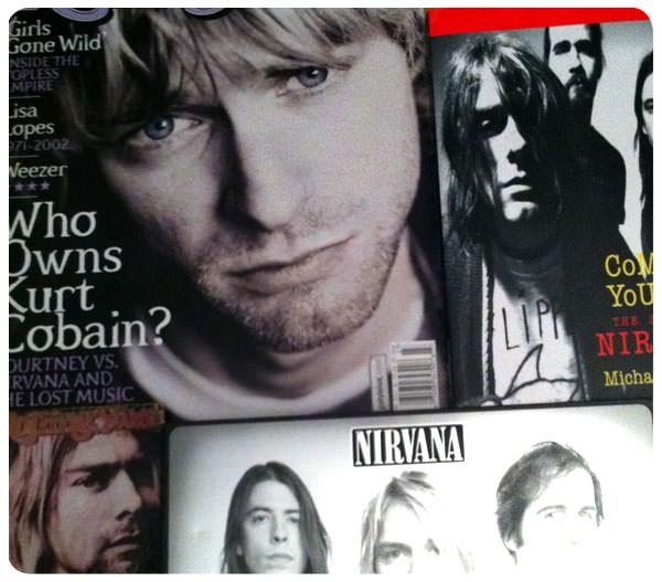 Courtney Love perdió los derechos sobre la imagen de Kurt Cobain 1