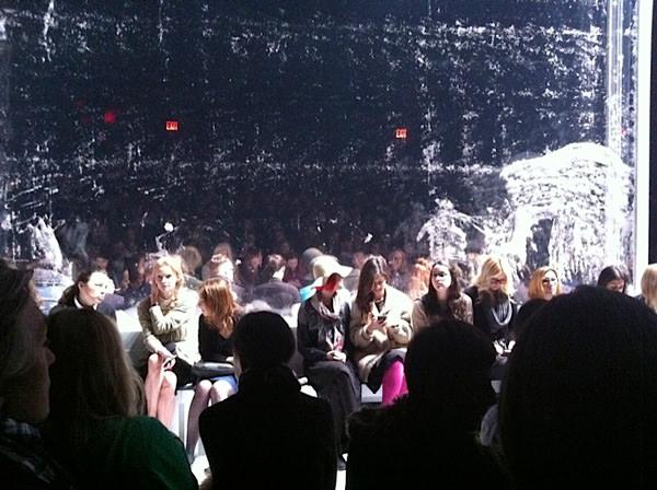 Recuento y backstage en la semana de la moda de Nueva York Otoño Invierno 2012 4