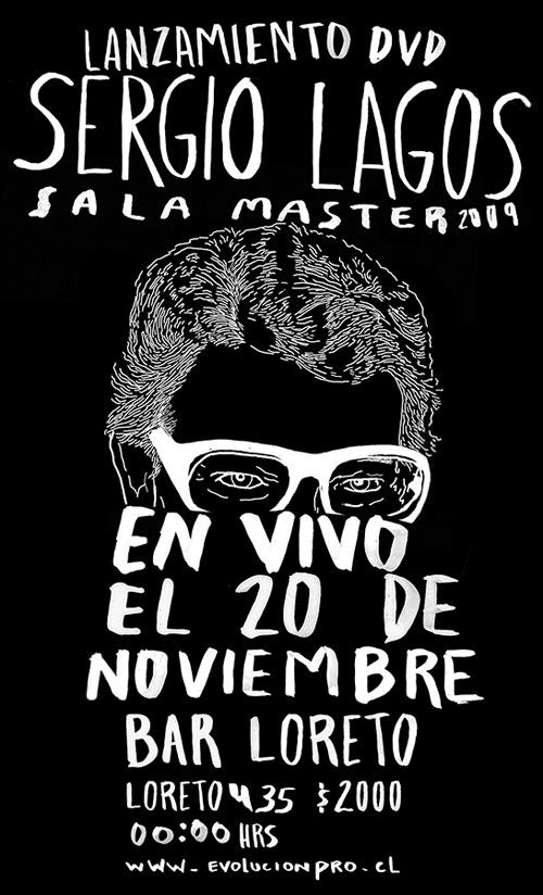 SAB/20/11 Sergio Lagos presenta su nuevo Dvd 3