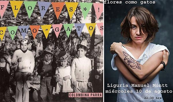 Flores Como Gatos, el disco de Colombina Parra (concurso!) 2
