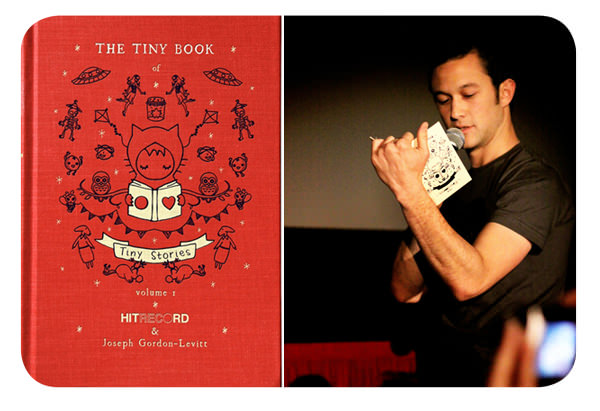 The Tiny Book of Tiny Stories, el libro de Joseph Gordon-Levitt  1