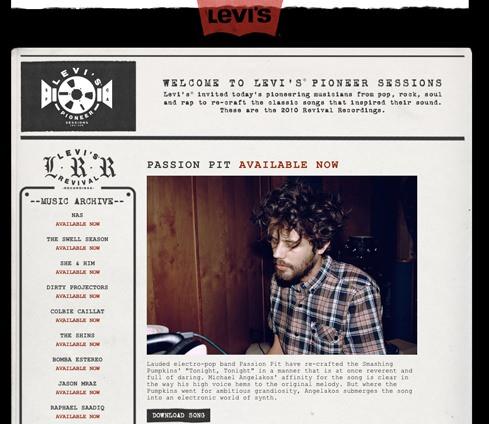 Las sesiones musicales de Levi's 1