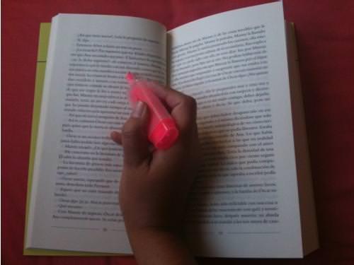 Destacar un libro: buena idea? 1