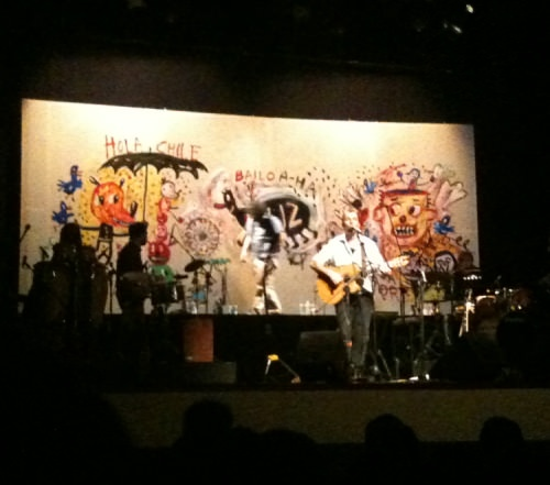 Johansen + Liniers en vivo  1