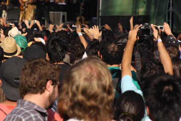 Apuntes día domingo 1 de abril, Lollapalooza 2012 6