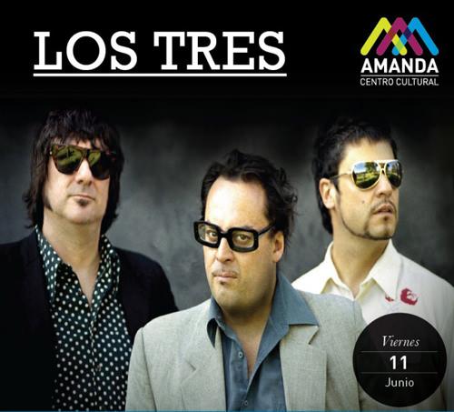 VIE/11/06/2010 Los Tres en vivo 1