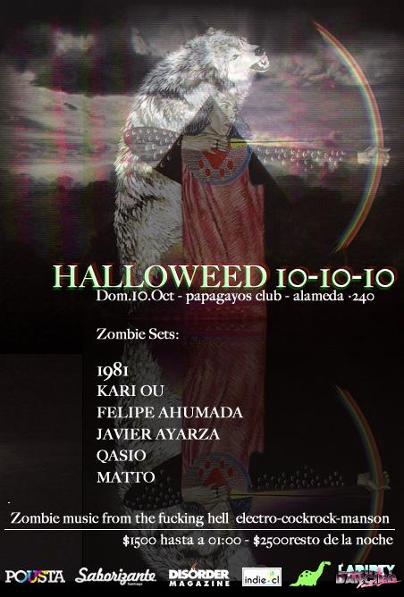 DOM/10/10 Halloweed 10/10/10 3