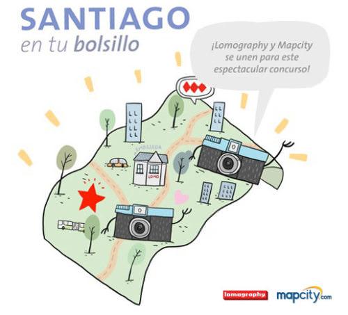 Santiago en tu bolsillo: publica tu foto análoga en guía Mapcity 1