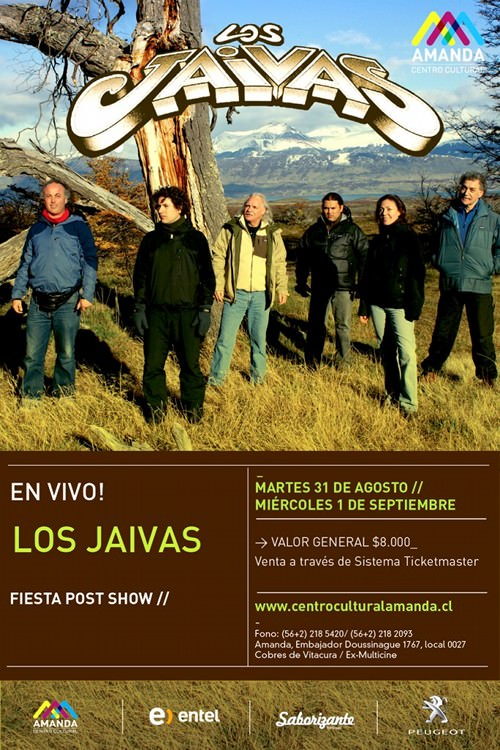 MAR/31/08 Los Jaivas en vivo 1