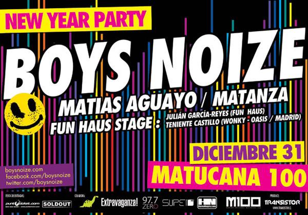 Año nuevo en Matucana 100 3