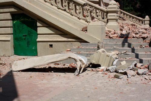Daño patrimonial: Museo de Arte Contemporáneo 12