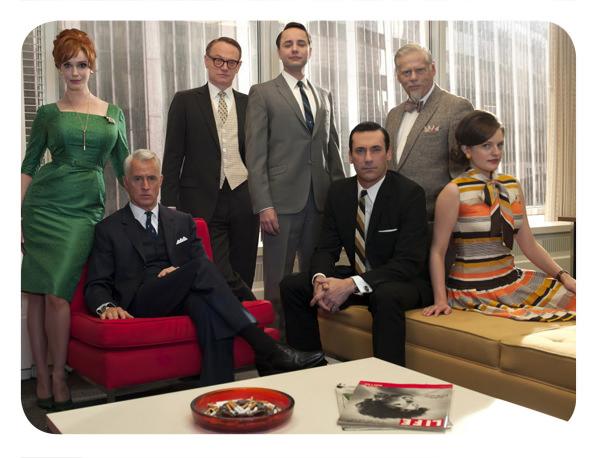 Estreno de Mad Men por HBO 1