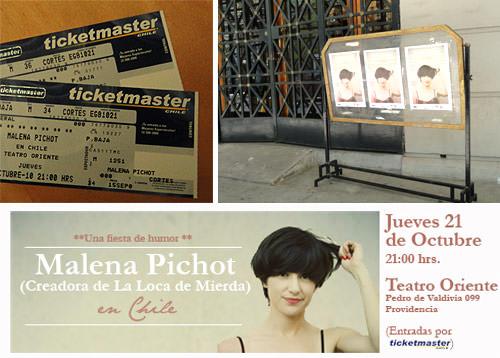 Gana una entrada para ver a Malena Pichot en Teatro Oriente! 1