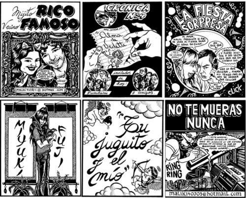 Los cómics y pinturas de Marcela Trujillo en Plop! y en el MAVI 1