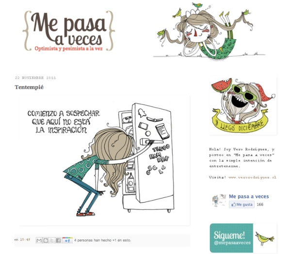 "Las viñetas de ""Me pasa a veces"" 5"