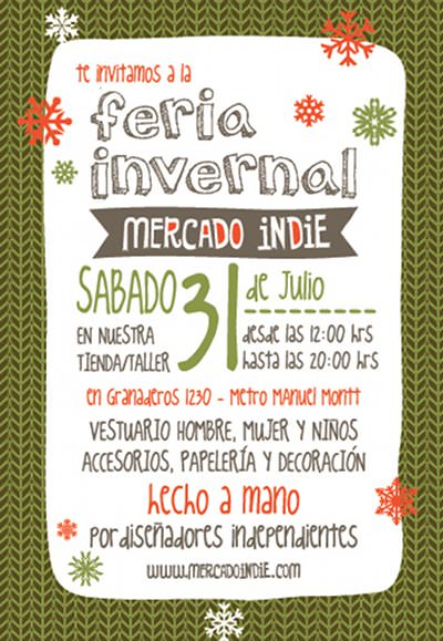 SAB/31/07 Feria invernal Mercado Indie 1