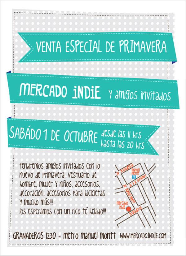 Venta especial de Primavera de Mercado Indie + invitados 1