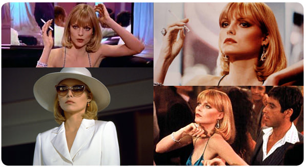 El look: ‪Michelle Pfeiffer‬ en Scarface 3